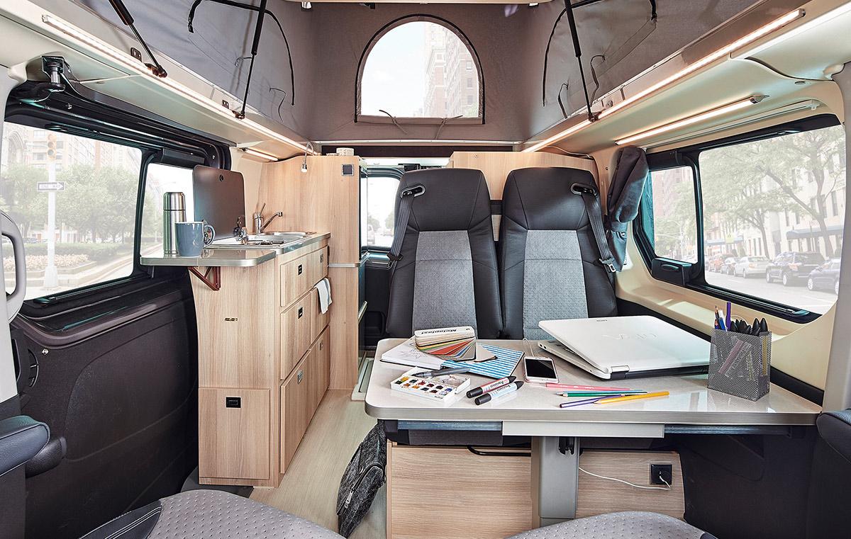 Vans dreamer 2018 for Interieur camping car